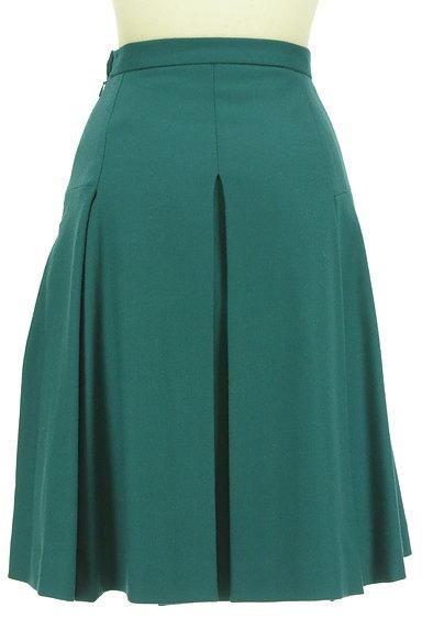 ru(アールユー)の古着「ミディ丈タックフレア起毛スカート(スカート)」大画像2へ