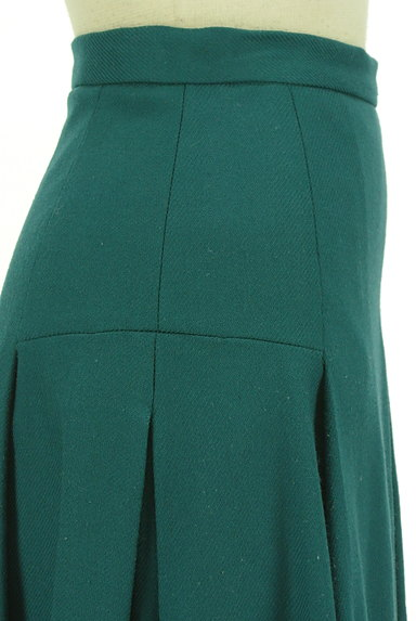 ru(アールユー)の古着「ミディ丈タックフレア起毛スカート(スカート)」大画像4へ