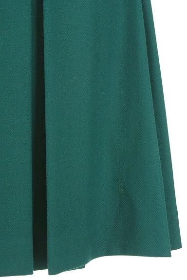 ru(アールユー)の古着「ミディ丈タックフレア起毛スカート(スカート)」大画像5へ
