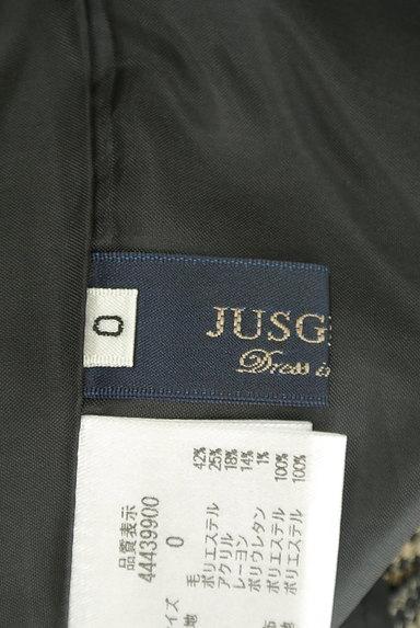 JUSGLITTY(ジャスグリッティー)の古着「チェック柄膝上丈起毛フレアスカート(スカート)」大画像6へ