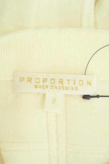 PROPORTION BODY DRESSING(プロポーションボディ ドレッシング)の古着「装飾モックネックチェック織地ニット(ニット)」大画像6へ