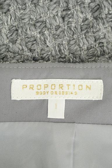PROPORTION BODY DRESSING(プロポーションボディ ドレッシング)の古着「美ラインニット編みスカート(スカート)」大画像6へ