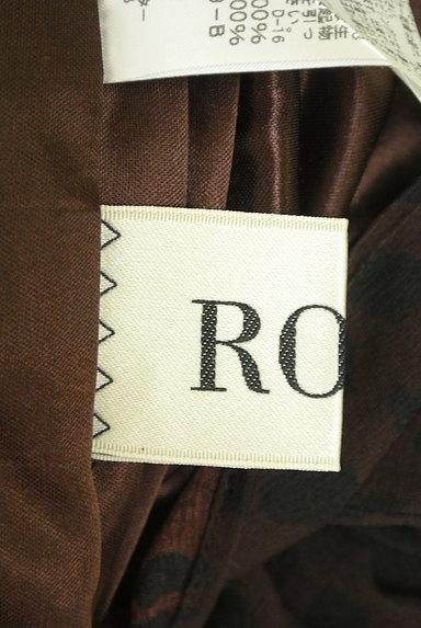 ROPE(ロペ)の古着「ベルト付きダルメシアン柄膝丈ワンピ(ワンピース・チュニック)」大画像6へ