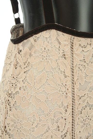 LAISSE PASSE(レッセパッセ)の古着「総レースサロペットスカート(キャミワンピース)」大画像4へ