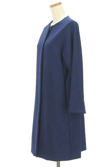 STRAWBERRY-FIELDS(ストロベリーフィールズ)の古着「ノーカラーロングコート(コート)」大画像3へ