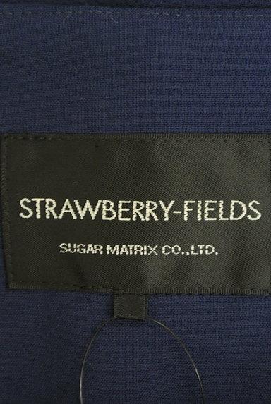 STRAWBERRY-FIELDS(ストロベリーフィールズ)の古着「ノーカラーロングコート(コート)」大画像6へ