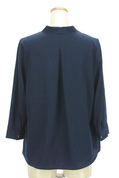 STRAWBERRY-FIELDS(ストロベリーフィールズ)の古着「Vネックタックブラウス(ブラウス)」大画像2へ