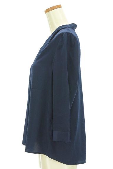 STRAWBERRY-FIELDS(ストロベリーフィールズ)の古着「Vネックタックブラウス(ブラウス)」大画像3へ