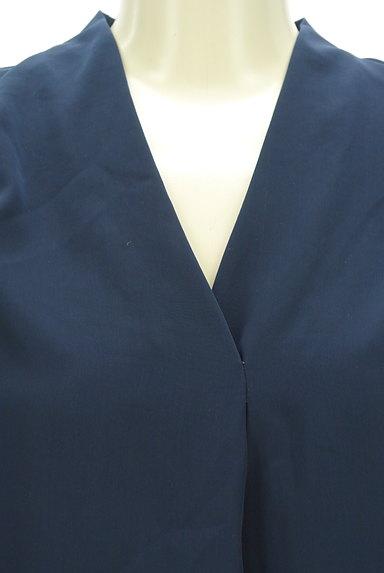 STRAWBERRY-FIELDS(ストロベリーフィールズ)の古着「Vネックタックブラウス(ブラウス)」大画像4へ