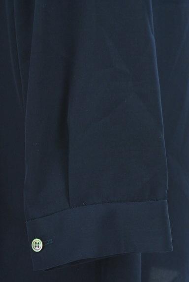 STRAWBERRY-FIELDS(ストロベリーフィールズ)の古着「Vネックタックブラウス(ブラウス)」大画像5へ