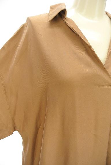 STRAWBERRY-FIELDS(ストロベリーフィールズ)の古着「抜け襟スキッパーブラウス(ブラウス)」大画像4へ