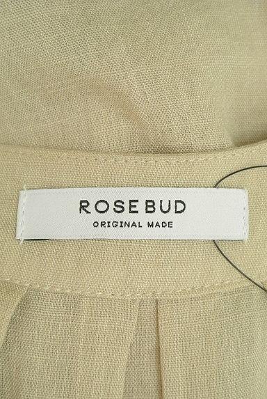 ROSE BUD(ローズバッド)の古着「Vネックフレンチスリーブシアーワンピ(ワンピース・チュニック)」大画像6へ