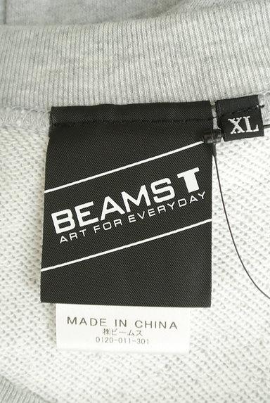 BEAMS Men's(ビームス メンズ)の古着「プリントスウェットトップス(スウェット・パーカー)」大画像6へ