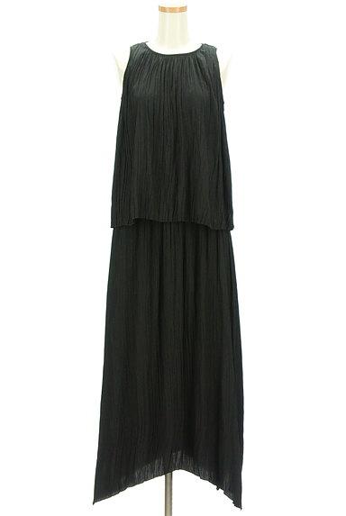 Mila Owen(ミラオーウェン)の古着「楊柳プリーツセットアップ(セットアップ(ジャケット+スカート))」大画像1へ