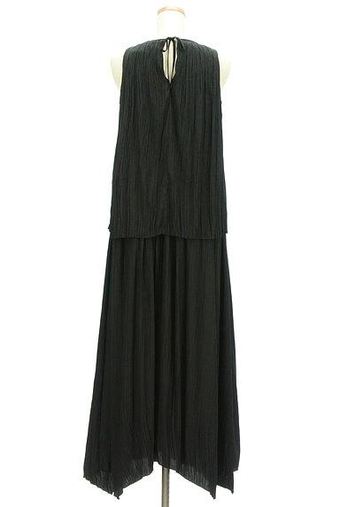 Mila Owen(ミラオーウェン)の古着「楊柳プリーツセットアップ(セットアップ(ジャケット+スカート))」大画像2へ