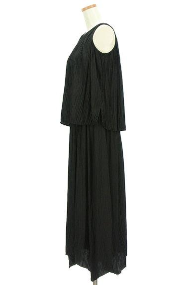 Mila Owen(ミラオーウェン)の古着「楊柳プリーツセットアップ(セットアップ(ジャケット+スカート))」大画像3へ