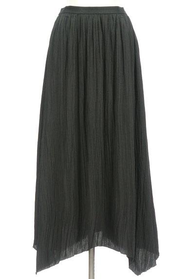 Mila Owen(ミラオーウェン)の古着「楊柳プリーツセットアップ(セットアップ(ジャケット+スカート))」大画像4へ