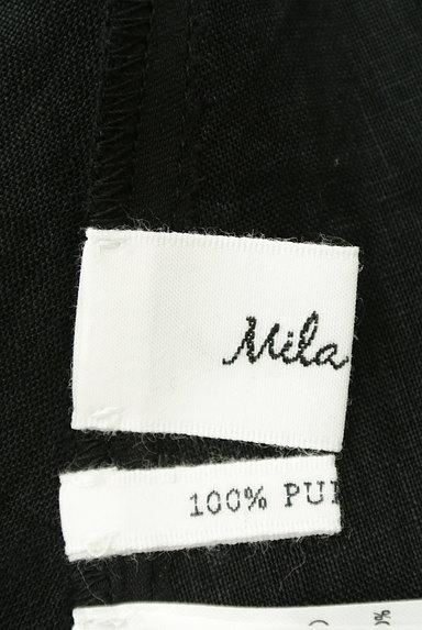 mila schon(ミラショーン)の古着「ピンタックブラウスリネンワンピ(ワンピース・チュニック)」大画像6へ