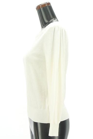 PROPORTION BODY DRESSING(プロポーションボディ ドレッシング)の古着「シアー花刺繍ニット(ニット)」大画像3へ