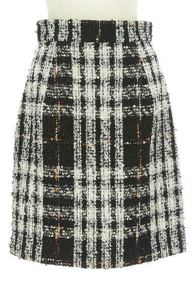 PROPORTION BODY DRESSING(プロポーションボディ ドレッシング)の古着「ラメチェック柄ふんわりスカート(スカート)」大画像1へ