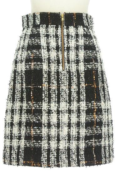 PROPORTION BODY DRESSING(プロポーションボディ ドレッシング)の古着「ラメチェック柄ふんわりスカート(スカート)」大画像2へ
