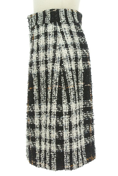 PROPORTION BODY DRESSING(プロポーションボディ ドレッシング)の古着「ラメチェック柄ふんわりスカート(スカート)」大画像3へ