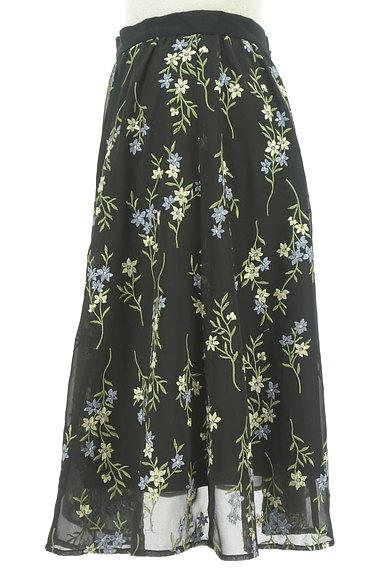 Apuweiser riche(アプワイザーリッシェ)の古着「フラワー刺繍フレアスカート(スカート)」大画像3へ