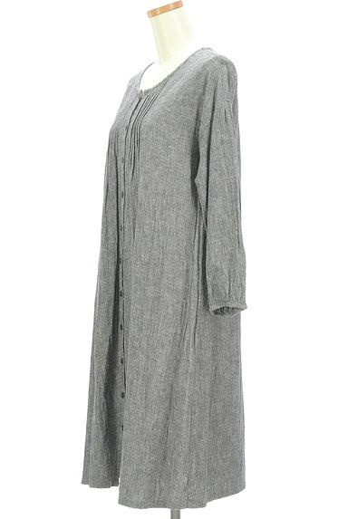 SM2(サマンサモスモス)の古着「こすれデニムシャツワンピース(ワンピース・チュニック)」大画像3へ