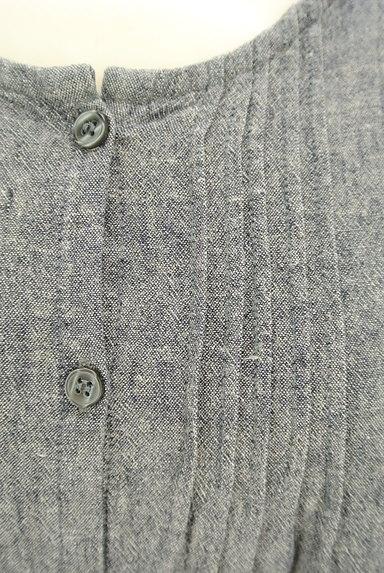 SM2(サマンサモスモス)の古着「こすれデニムシャツワンピース(ワンピース・チュニック)」大画像4へ