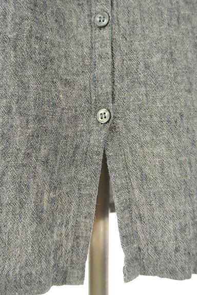 SM2(サマンサモスモス)の古着「こすれデニムシャツワンピース(ワンピース・チュニック)」大画像5へ