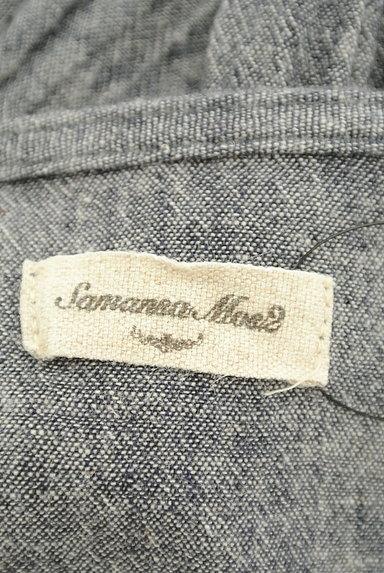 SM2(サマンサモスモス)の古着「こすれデニムシャツワンピース(ワンピース・チュニック)」大画像6へ