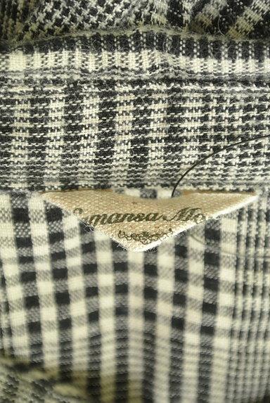 SM2(サマンサモスモス)の古着「コットンリネンチェックシャツ(カジュアルシャツ)」大画像6へ