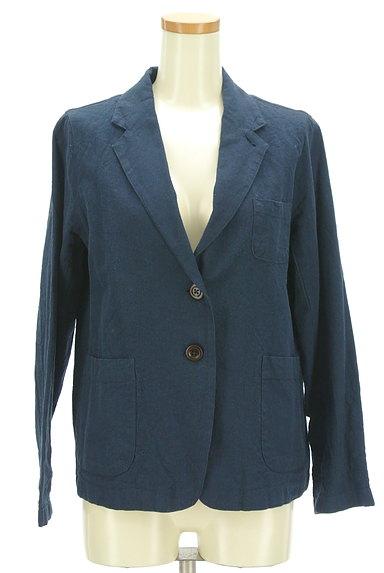 SM2(サマンサモスモス)の古着「コットンリネンテーラードジャケット(ジャケット)」大画像1へ