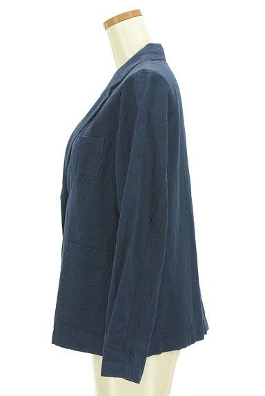 SM2(サマンサモスモス)の古着「コットンリネンテーラードジャケット(ジャケット)」大画像3へ