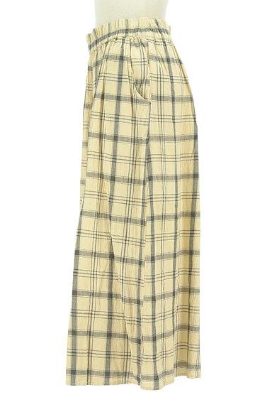 SM2(サマンサモスモス)の古着「ナチュラルチェックのガウチョ(パンツ)」大画像3へ