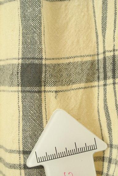 SM2(サマンサモスモス)の古着「ナチュラルチェックのガウチョ(パンツ)」大画像5へ