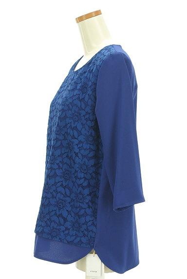 LAUTREAMONT(ロートレアモン)の古着「花レース切替カットソー(カットソー・プルオーバー)」大画像3へ