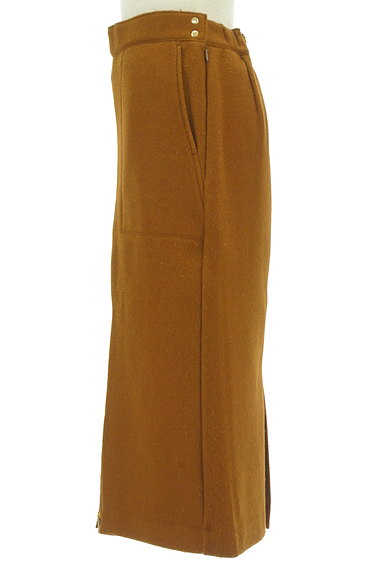 BARNYARDSTORM(バンヤードストーム)の古着「ミモレ丈のあったかタイトスカート(ロングスカート・マキシスカート)」大画像3へ