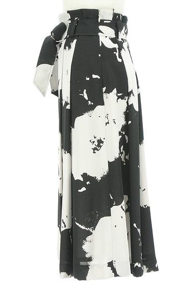 LAUTREAMONT(ロートレアモン)の古着「大人モノトーンラップ風スカート(ロングスカート・マキシスカート)」大画像3へ