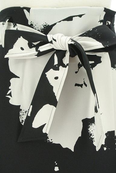 LAUTREAMONT(ロートレアモン)の古着「大人モノトーンラップ風スカート(ロングスカート・マキシスカート)」大画像4へ