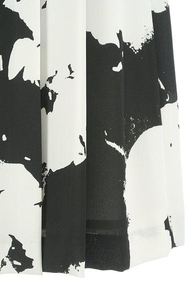LAUTREAMONT(ロートレアモン)の古着「大人モノトーンラップ風スカート(ロングスカート・マキシスカート)」大画像5へ