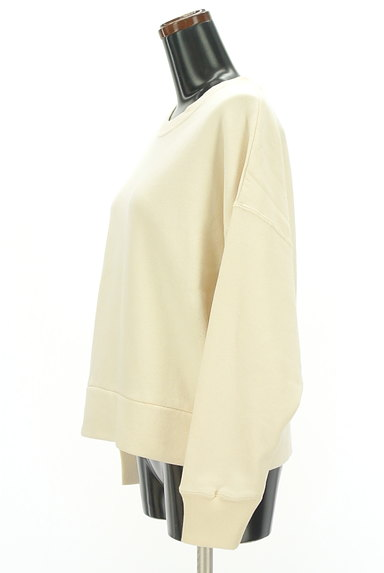 Adam et Rope(アダムエロペ)の古着「ゆったりボリューム袖スウェット(スウェット・パーカー)」大画像3へ