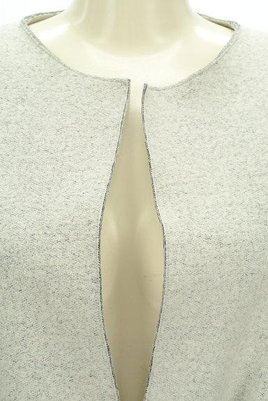 LAUTREAMONT(ロートレアモン)の古着「ウエストリボンノーカラーコート(コート)」大画像4へ
