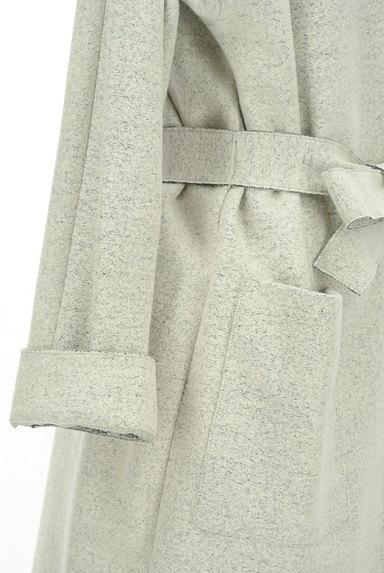 LAUTREAMONT(ロートレアモン)の古着「ウエストリボンノーカラーコート(コート)」大画像5へ