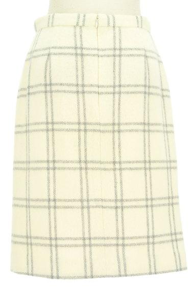 MISCH MASCH(ミッシュマッシュ)の古着「ふわふわチェック柄タイトスカート(ロングスカート・マキシスカート)」大画像2へ
