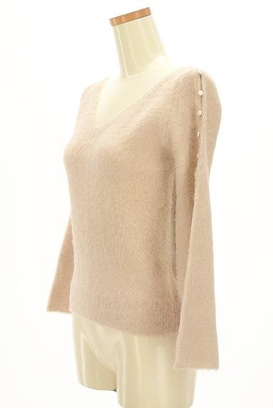 PROPORTION BODY DRESSING(プロポーションボディ ドレッシング)の古着「肩ボタンふわふわニット(ニット)」大画像3へ