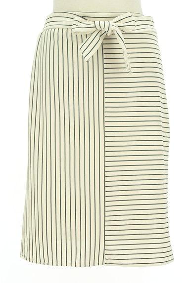 Spick and Span(スピック&スパン)の古着「切替ボーダータイトスカート(スカート)」大画像1へ