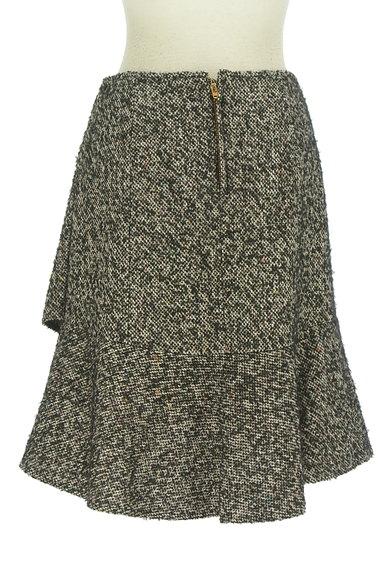 Spick and Span(スピック&スパン)の古着「裾フリルミックスウールミニスカ(ミニスカート)」大画像2へ
