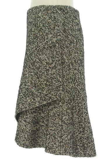 Spick and Span(スピック&スパン)の古着「裾フリルミックスウールミニスカ(ミニスカート)」大画像3へ