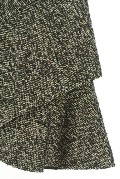 Spick and Span(スピック&スパン)の古着「裾フリルミックスウールミニスカ(ミニスカート)」大画像4へ